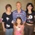 Игорь Балаба с семьей